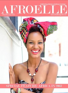 AfroElle Afropolitan Issue - 2013 Cover